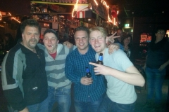 Chris Nico Marc en Sander